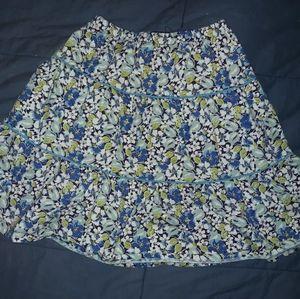 Floral skirt 6x